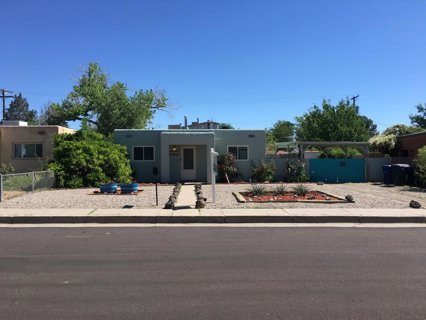 Right in the heart of ABQ Uptown. Right around the corner to amazing shopping at ABQ Uptown, Coronado Mall and Winrock! Surrounded by great restaurants. Super easy access to I-40. This refreshed Home in the central part of our city has everything you need. Come see it today.