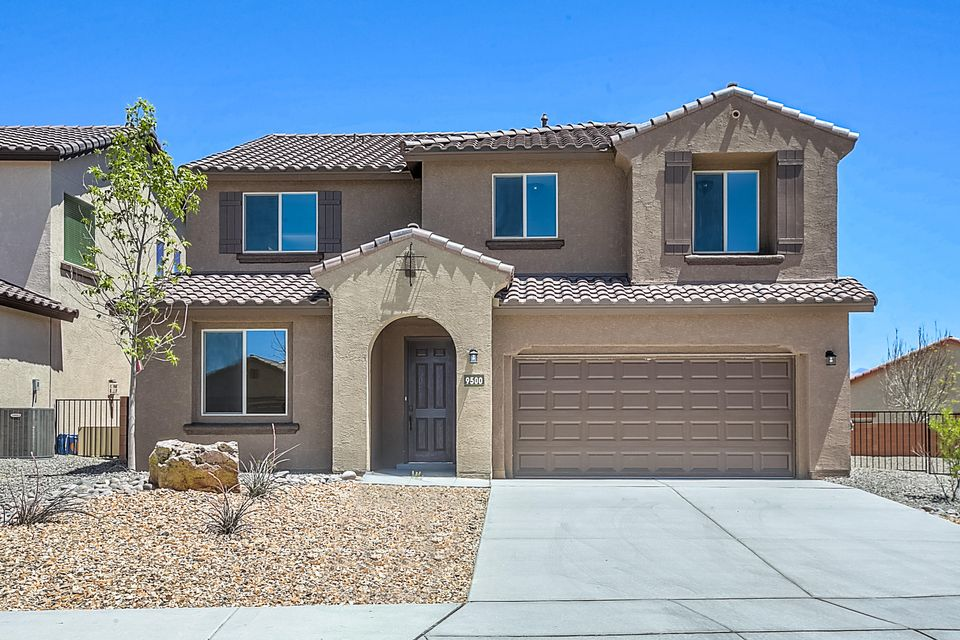 Open for showings today! Brand new, never lived in Pulte home. Enjoy new appliances, carpet, A/C, tank-less hot water heater, windows, roof & so much more! The Fano home design features a den, a 3-car garage & a cafe off the kitchen. The Consumer Inspired(r) Pulte Planning Center(r) is a central space near the kitchen great for a homework station, bill paying, recipes, charging electronics & more. The center sliding glass door takes you to the covered patio in the backyard with an outdoor fireplace. In the kitchen you'll find granite, upgraded cabinets & stainless steel appliances. The wrought-iron stair railings take you to the second floor with a family loft, perfect for movie & game nights, plus the owner's suite & two more bedrooms. Enjoy your morning coffee on the balcony with views.