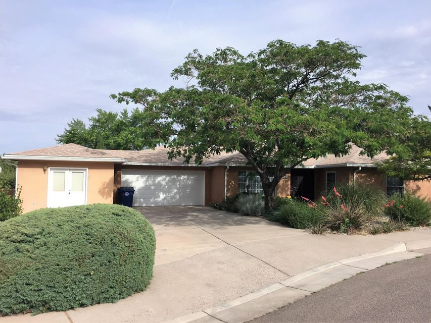 This is a special home sitting on an Largest lot in the area with a park like setting in the front and back yard. Bedrooms that are extra large giving extra space. The laundry rooms is even oversized with counter tops for folding and extra cabinet space and its own sink. This is a well maintained home with upgraded windows, refrigerated air and located in a cozy cul-de-sac. This large beautiful home is a great location with spacious rooms beautifully landscaped yard front and back. 2 car Garage has a stove in it for canning the fruit from the trees in the far back yard and an extra heated and cooled workshop for the handy person in the home or for extra storage. Some of the items in the home could be purchased separately!!! Workshop included in Square footage of home.