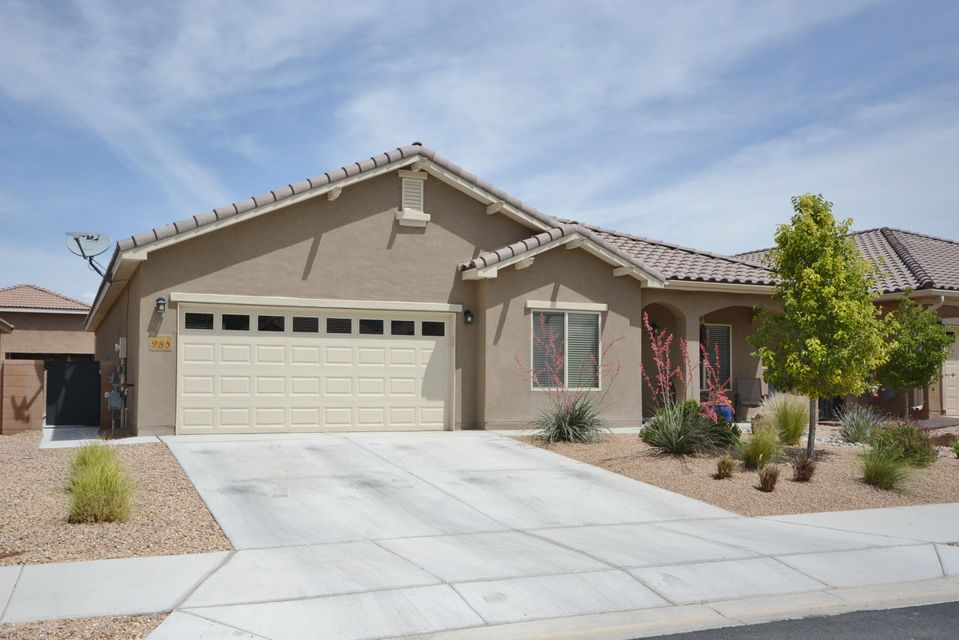 Located in the popular Del Webb Alegria Active Adult Community!Private & gated!This home is the Loretto floor plan situated on a culdesac, close to the Bosque trails and mountain views!This casually elegant,turn-key home features a versatile floor plan w/the master suite on its own wing.2BDRS + large flex room/office/bdr with French doors plus a separate study/work space.Chef's kitchen features granite countertops, island,large pantry,extra cabinetry, gas cooktop, built-in oven,tile flooring.  Master suite features separate shower, raised double sink vanity & walk-in closet.Beautifully landscaped, extended & covered patios & 2 garden areas. 2.5 CG finished & insulated,plenty of storage.Club House w/indoor & outdoor pool & fitness center,private access to Bosque trails.