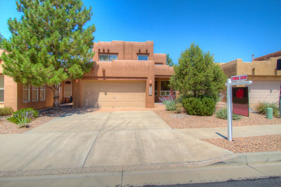 Beautiful High Desert 2 story home. Enjoy the tasteful SW Accents with soaring ceilings lots of natural light. Master is down with spacious secondary bedrooms up with large loft. Open kitchen with appliances. 2 car garage. Some mountain views. Jogging and walking paths close by. Show this great property today.