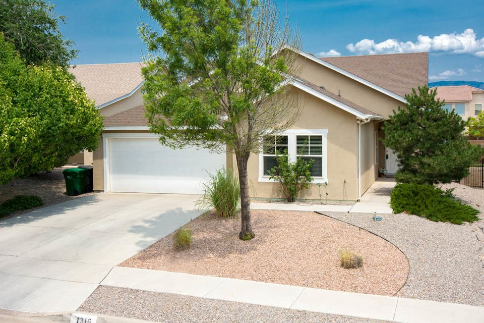 CABEZON COMMUNITY LIVING AT IT'S BEST! No HOA fees! Walk to the park, pool, movie theater, restaurants, watch the hot air balloons from your yard!  Darling open floor plan.  Enjoy the fireplace from the living room and dining areas.  Master bath has a recently installed walk in tub valued at $15,000.00 Walk-In Tubs combine safety with the powers of hydrotherapy to relieve pain and boost energy.  Choose from a variety of hydro-therapeutic soaking tub features such as massaging water jets to create a spa-like experience in your home.   Landscaped yard with fruit trees and covered patio. A must see for home owning or investment property.