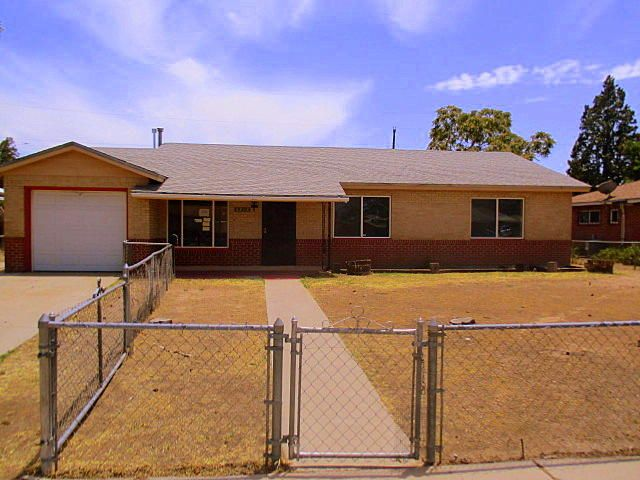 Beautifully updated home near Alvarado Park! New carpet and interior paint, new tile and more!! Open living area, formal dining room, arched doorways, covered patio and fenced yards. Property sold in as is condition. No warranties expressed or implied. Please submit copy of approval letter/POF, earnest money on all offers.