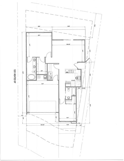 Two Bedroom, two Bath, two Car Garage, in gated community. Floor plan designed specifically for the lot.  Home is proposed construction with Homes by Kim Brooks. Changes to floor plan available. Home will come with One Year Warranty with Homes by Kim Brooks, up to 1% towards buyer's closing costs, and allowance towards buyer's appliances.