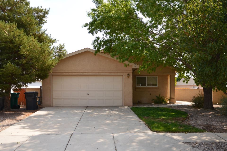 Located on a quiet street, this lovely 3 bedroom home has a large greatroom and kitchen with pantry and dining area and includes refrigerator. Home has been freshly painted and has new carpet. Backyard has new privacy fence, patio and partial mountain and city views. Home is ready for move-in.