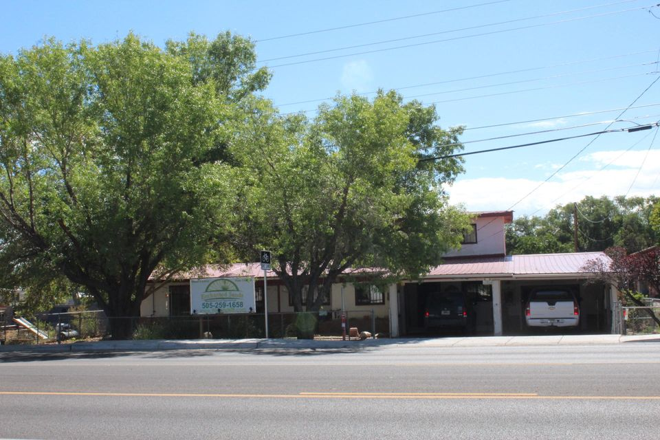 Commercial zoned currently being used as a single family residence.