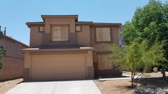 2 story home 3 bedroom, 2.5 bath in gated community.  Needs work, bring contractor types.  Has potential. Kitchen opens to den with fireplace.  Master upstairs.  Great neighborhood near park.