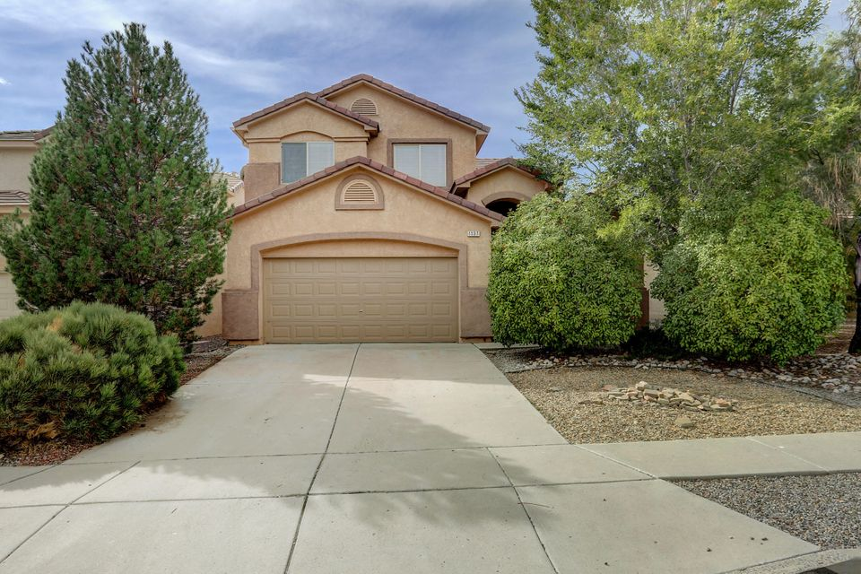 Here's your chance to get a great deal on a home in the beautiful Astante at Cabezon development. Two parks within walking distance, an open kitchen and living room concept with breakfast nook and fireplace in family room off the kitchen. The dining and formal living areas are at the front of the house. Upstairs, there's a loft to use as a study room and/or play area! The master bedroom has TWO walk in closets and master bath has dual sinks, with separate tub, shower, and water closet. Refrigerated air, breakfast nook, cathedral ceilings, kitchen island, and bay windows are all features you will enjoy in this freshly painted home. The carpet has been removed, it's a clean slate for you to choose a new floor covering, and the price is right to be able to do it! Come see it today!