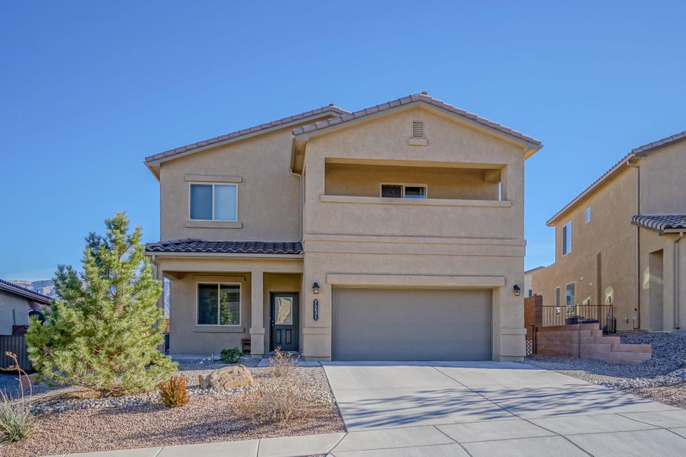 All the advantages of a brand new home with out the wait!  Two year old home in a beautiful planned community,  Just minutes away from 550 and 528. Close to restaurants, banks, shopping center and great schools.  Open concept kitchen with granite counter tops. Ample Master suite with balcony, sitting area double sink and walk in closet.  Loads of space with two living areas, formal dinning room, 4 bedrooms, 3 bathrooms, laundry room upstairs, loft, big kitchen and living room. Attached two car garage. Ample back yard is a white  canvas ready for your personal touch.  DR Horton 2X6 construction. This is a must see!