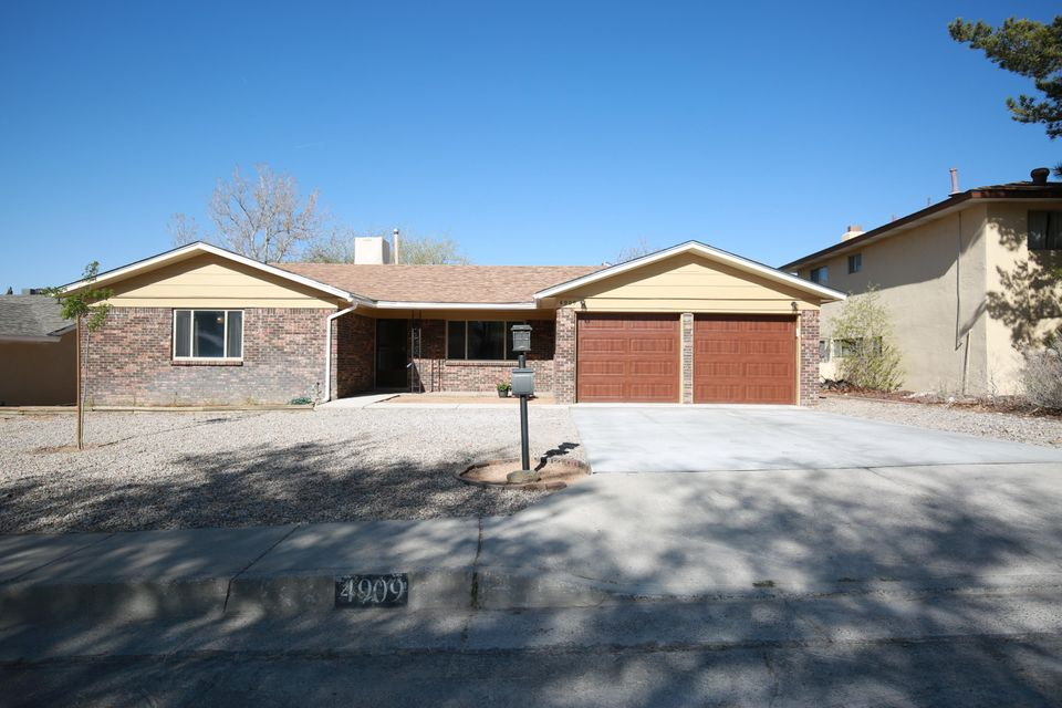 Gorgeous Remodel! This one is a cream puff! You do not want to miss your opportunity on this one.   Totally remodeled top to bottom, new granite counter tops, updated bathrooms, new tile throughout, new driveway and so much more that you just have to see.  No carpet in this one.  Wood look tile flooring in living spaces and sharp tile in bedrooms as well! Gas stove, new cabinets and so much more! No detail overlooked.  Call your realtor and see this one today!