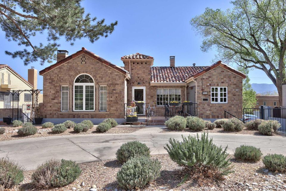 The best of Ridgecrest...rests this Mediterranean Tuscan home with steps to parks and a green belt with towering trees.This home has been carefully preserved with modern comforts.Starting from the circular driveway and an old fashion oversized porch enter into the foyer to the dramatic living room with soaring high cove ceilings and the warmth of a fireplace.Additional rooms on main level include formal DR,2 BR's & a master with a fireplace,study,conservatory and kitchen designed for the gourmet cook. Gas cooktop,double oven, abundance of counter space,cabinets galore and serious built-ins.For the serious cook a wine cooler has been added.Lower level has 2 bedrooms/FR with fireplace and walks out to outdoor space.Pool, hot tub,gazebo and privacy. For the men it offers a newer 2 car garage