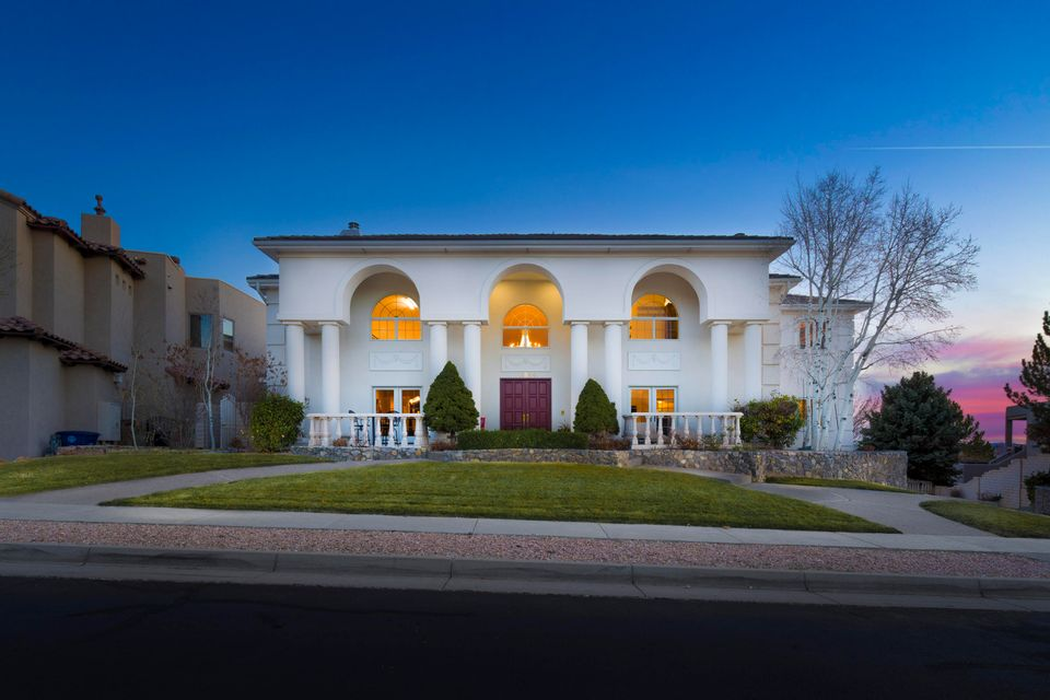 Luxurious Mediterranean style architectural masterpiece, built to the highest level of perfection, located in the upscale private million-dollar plus gated Sauvignon community on a lush .35 acre elevated golf course lot. This 8,000sf estate offers a rich palette of the finest finishes! Grand entry with a 20ft soaring ceiling & striking chandelier. Stunning main living w/ oak hardwoods, gas fireplace w/ custom mantle & a ceiling to floor french door & window combination. Lavish designer kitchen w/ custom walnut cabs & crown, granite countertops, built-in double ovens, 8 burner cooktop/grill, sub zero fridge & more! Master suite w/ sitting area, fireplace, private deck & spa-like bath w/ his/her closets. Huge craft room w/ storage. Wine cellar! Park-like grounds w/ 3 levels of outdoor living