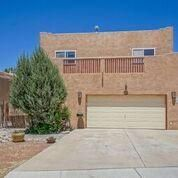 Beautiful custom home in North Valley.  This home truly shines, located in a cul de sac.  The spacious kitchen has tons so space with pantry.  The kitchen overlooks the dining area and main living area that has a cozy fireplace and bamboo flooring.   There is great light throughout this home.  The master suite is located upstairs with views of the Sandias.  There is a great outdoor living space with hot tub for entertaining on those great NM evenings. This property is a true gem!