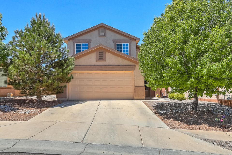 Desirable Ventana Ranch neighborhood within boundaries of ''in demand'' Volcano Vista cluster schools.  Enjoy planned community amenities such as walking trails and parks.  You'll love the dark wood floors that enhance this home.  Kitchen sparkles with granite counter tops and opens to living area to socialize while prepping meals.  Spacious floorplan includes a bedroom downstairs that could be flexible space for a study, home office, maybe even a playroom.  Master bedroom is huge with plenty of storage there and everywhere.  Summers are comfortable with refrigerated air and low-maintenance in the landscape department.  Call now, tomorrow may be too late!