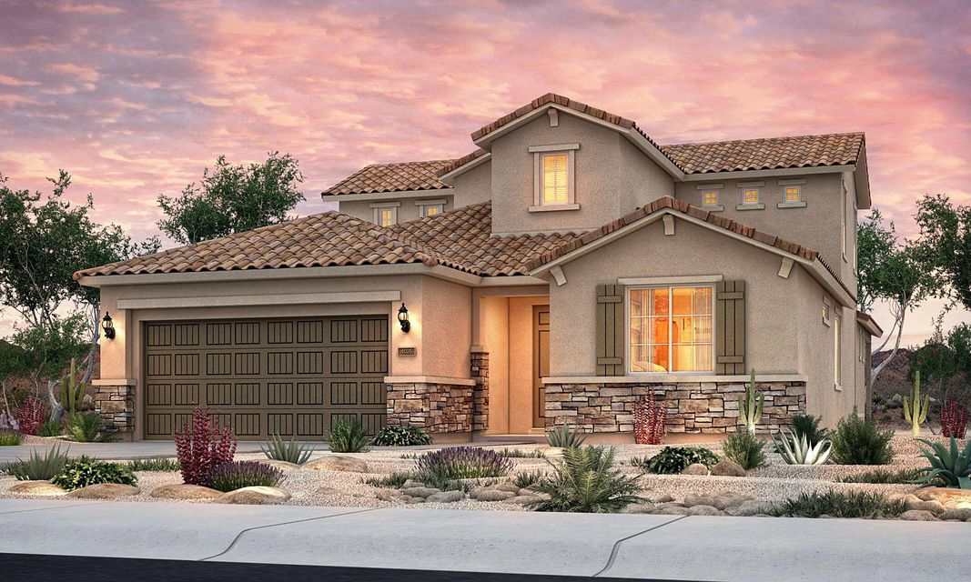 This Carissa home design by Pulte is currently under construction and will be complete Fall 2018. Come visit the brand-new Tierra Serena gated community in Albuquerque's sought-after Northeast Heights! Located in the La Cueva school district, this family-friendly neighbor offers stunning views of the Sandia mountains and is only minutes from I-25, making your daily commute quick and convenient. This Carissa home features an elegant kitchen with dark-wood cabinets, gorgeous granite counters, white subway tile back splash, and Whirlpool(r) premium gas appliances with a 36-inch cooktop and two ovens. Relax in the first-floor owner's suite with a private spa-like bathroom with a soaker tub. A game room upstairs complete with a balcony provides additional living space for large families.