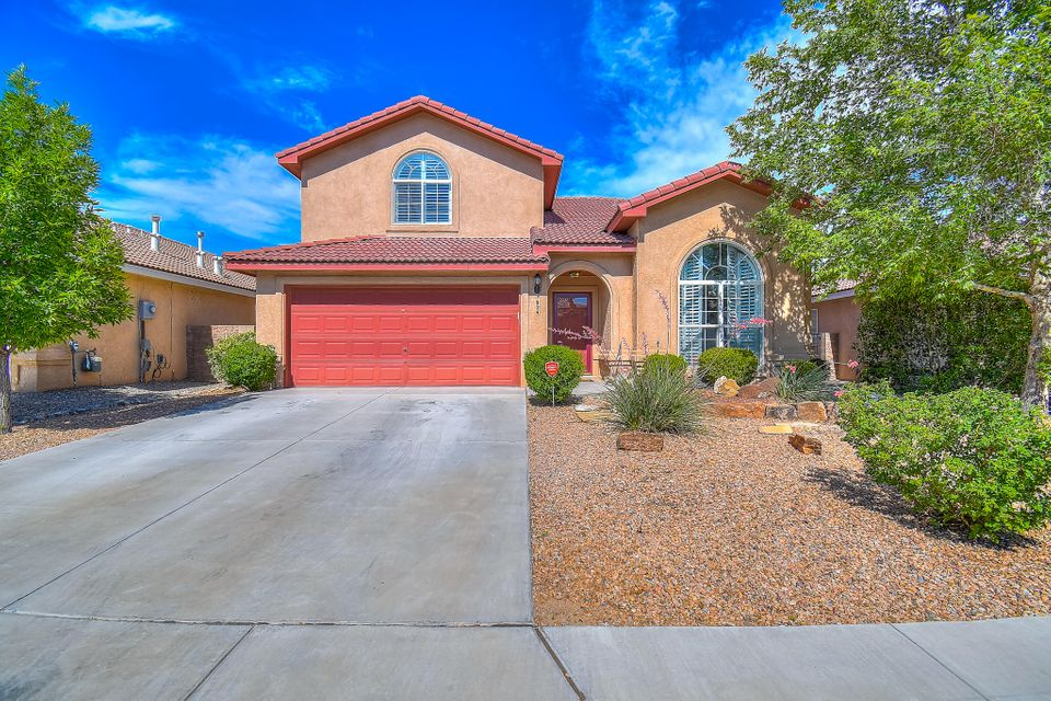 Welcome Home to the Beautiful Sundoro Neighborhood! Enjoy the Expansive Floor Plan which offers 4/5 spacious bedrooms, 3 bathrooms, 3 Living Areas, 2CG, a generous-sized bedroom with 3/4 bath en-suite on the main level make a great guest space! REFRIGERATED Air, Bamboo Wood Flooring & Much More! The Kitchen offers Generous Cabinet/Counter Space, Island, Pantry, & Double-Oven Range! Upstairs You'll Find a Spacious Master Suite with a Study and Spectacular Views from the Private Balcony, Luxurious Master Bath w/Double Sinks, Garden Tub & Separate Shower. Huge Walk In Closets! There are TWO! The Backyard is Perfect For Entertaining and Enjoying the Peaceful Views. This lot sits above the homes to the East and overlooks a quiet cul-de-sac. Truly a Private Retreat with EVERY Comfort you DESERVE