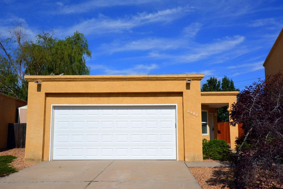 What a find! This 2BR, single level home offers a completely remodeled kitchen that includes beautiful tile floors, quartz counter tops, stainless steel appliances, and a cozy breakfast nook complete with cabinets for storage. The light and bright living room offers a raised ceiling with fan, as well as a gas log fireplace. Throughout the home you will find new (2014) energy efficient windows. Spacious Master Bedroom complete with an attached 3/4 bath and large walk-in closet. Off the Living Room you will find a nice sized sunroom (186 sqft/unheated) complete with a Sauna. The backyard is a gardeners dream, fully landscaped by Judith Phillips offering numerous gardening areas, a storage shed, and a disappearing waterfall pond. *SAUNA CONVEYS AS IS*