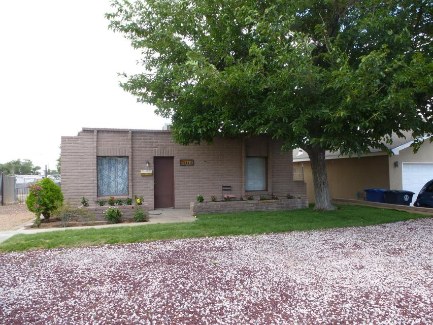 Southwest accents in this 3 bedroom 1 bath home with nice sized yard. Eat-in kitchen and living room/dining room combination. Cute home to make your own or for investors wanting instant rental income! Close to bus line, schools and shopping.Renter would like to stay.House sold as is, where is, with no warranties or expressed guarantees.