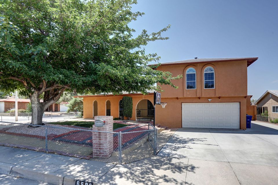 HUGE PRICE REDUCTION- $10,000 Pride of ownership shows at every turn inside & out. Large quite corner lot with space to breathe, tons of storage space including custom out building Large RV pad or extra parking, room for a pool and wonderful floor plan with just enough separation to make everyone happy. This 4Bdrm, 2.5bath Formal Living and Dining room plus casual Family room and everyday dining space for the just us evenings. Offers Beautiful updates on every level. Granite counter tops, SS appliances included, new flooring, Beautiful bathroom updates, large closets, over sized garage,, covered patio space front and back and great family gathering space inside and out. Sellers sadly relocating but you will LOVE what they have done to make this house a HOME