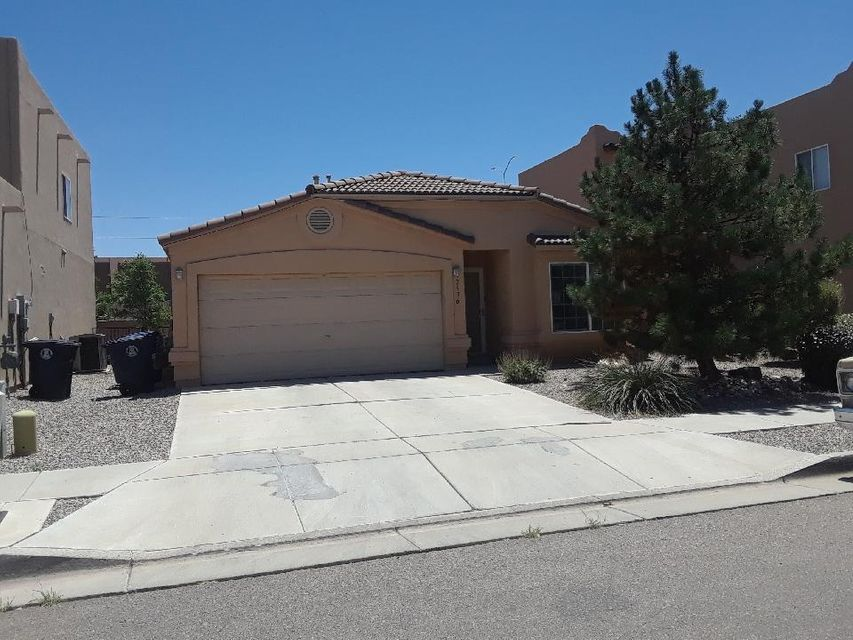 Convenient location near Old Town & Rio Grande!  Wonderful home with tile roof, refrigerated air, great room with fireplace open to kitchen with breakfast bar & pantry.  Nice layout featuring master bedroom separate from the 2 additional bedrooms, great covered patio & attached 2 car garage.  All appliances stay!  Don't miss this turn key property!