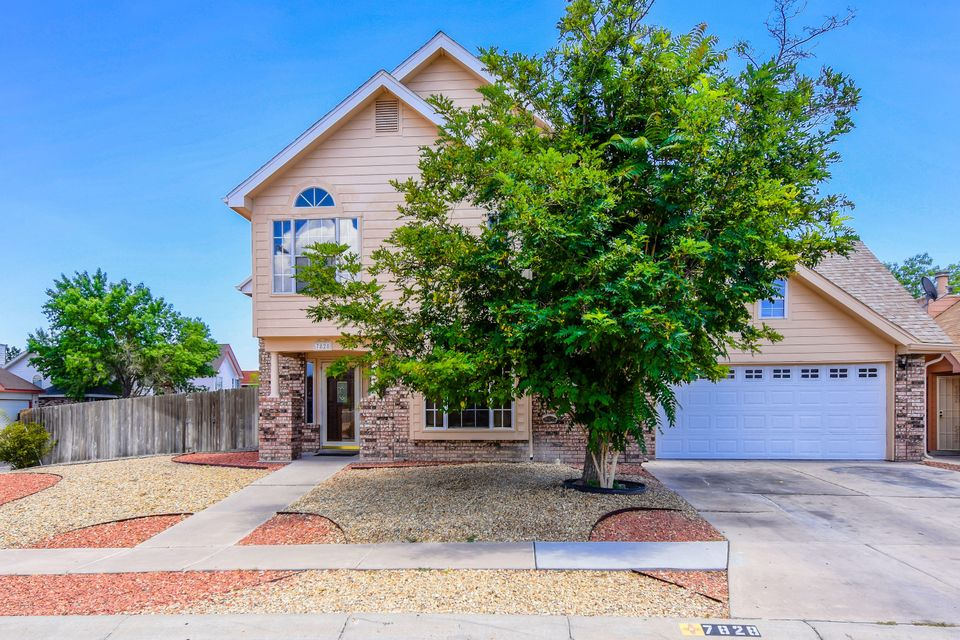 Charming Sivage Thomas home located in the Prairie Ridge community of the Northwest Heights on a corner lot. Home features 2,169sf with 4 bedrooms, 2.5 baths and a loft. Spacious living area with upgraded wood flooring and a gas fireplace. Kitchen updated with stainless steel appliances including a refrigerator and granite countertops! First floor master suite with wood flooring and a private bath. Bath host dual sinks with a marble countertop, a large jetted tub and a separate walk-in shower. Outside find a large fenced backyard with open patio!