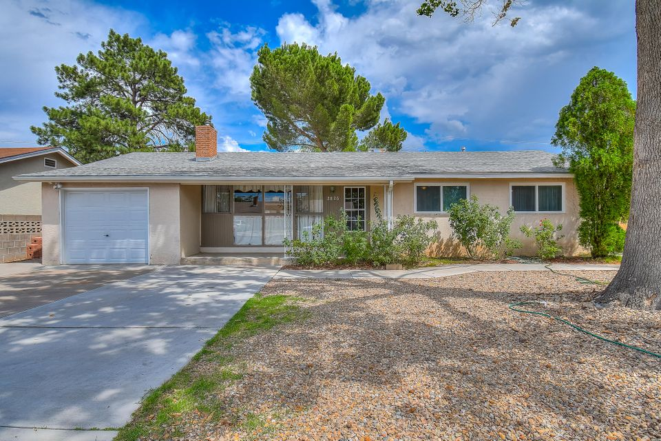 This beautiful Mossman house is just what you've been looking for. Step through the front door to the gleaming hardwoodflooors, raised wood ceilings, and large windows. With newer windows, cabinets, an updated bathroom and a sunroom with nearly 200 square feet of additional space NOT included in the square footage, this is mid-century moder is sure to impress. The kitchen has corian counter tops and all appliances convey, including a newer washer and dryer. The garage has a new door and is heated to use as a workshop space. The large laundry has a great storage area and there's another great space that would make for an additional bathroom. NEW ROOF INSTALLED OCTOBER 2018! Don't miss your opportunity to own a great home in the desirable Uptown area. Call for your. Private showing today.