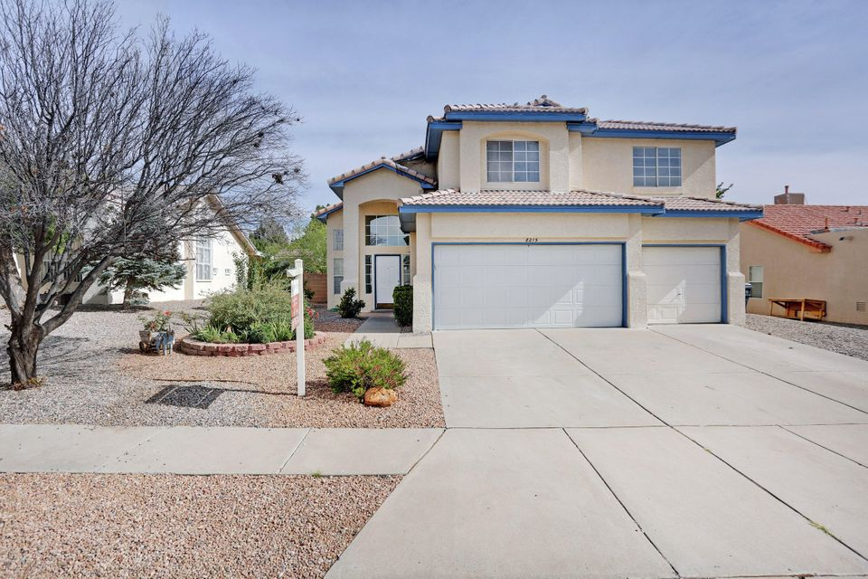 What an absolute gem! This is a magnificent home in a great area! Boasting a 3 Car Garage, updated Wood Laminate Flooring, Refrigerated Air, and Refinished Cabinets. The Floor Plan is very welcoming and spacious. The Master Bedroom has an Amazing Outdoor Balcony with Sandia Mountain Views! The backyard has a lot of space with a good sized shed! This home has a lot to offer in a highly desirable area. It is sure to go quick!