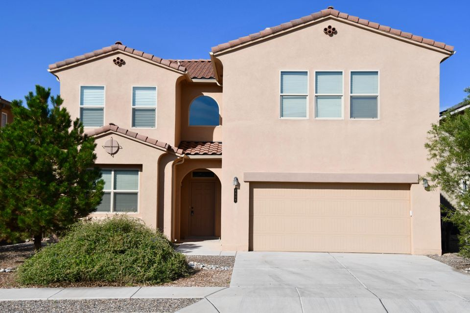 Beautiful, spacious, 4 bedroom home with a study/possible 5th bedroom! New paint and carpet! Large master with two large walk in closets! All appliances included. Kitchen is large with nook and separate dining area! Located in Montecito Estates neighborhood which includes an outdoor Community Pool, a Club house & a park all within walking distance.
