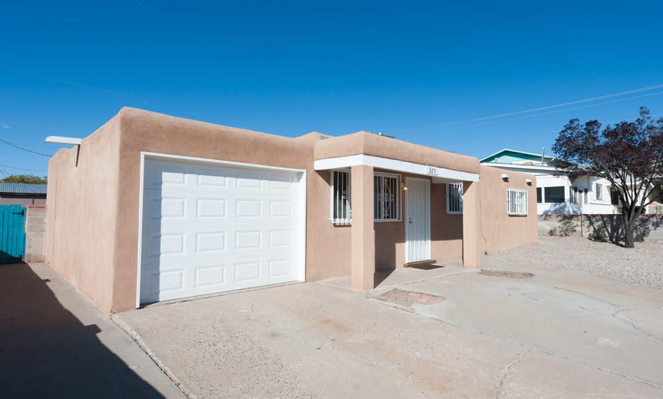Nicest house on the block, one car garage. New kitchen with new appliances with refrigerator. New Master Cool swap cooler. Has a fire place and new paint and fixtures, stove, microwave... Private walled backyard. Must see.