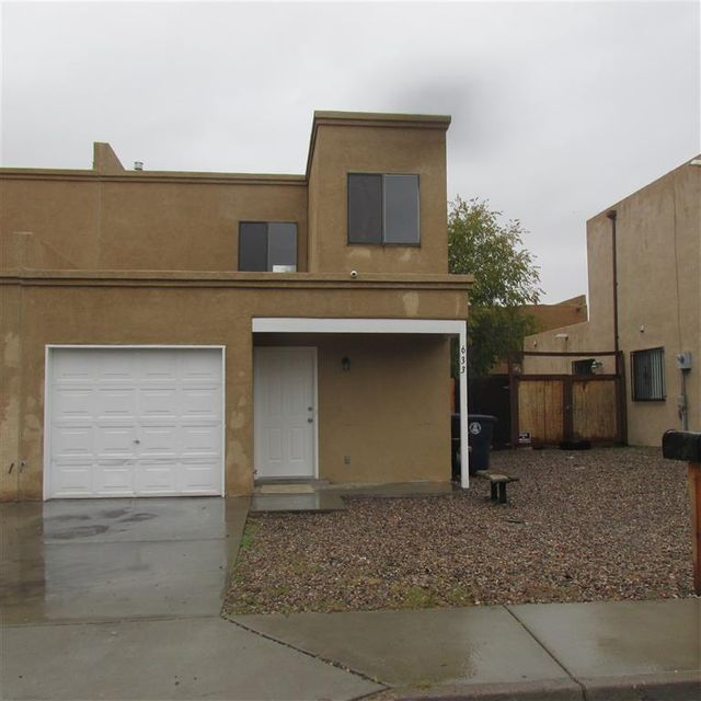 This home is all cleaned up, freshly painted a two tone neutral color, new appliances, light fixtures, carpeting and window coverings.  Worth looking at!  Super location with Alamosa Elementary right down the street, huge city park with tennis courts, skate park and Community Center close by and everyday shopping down the street.  There is an attached garage, enclosed rear and side yard, ceramic tile flooring in main living area.  Come see it! GREAT FINANCING AVAILABLE WITH LOW OR NO DOWN.  Please use Showing Time