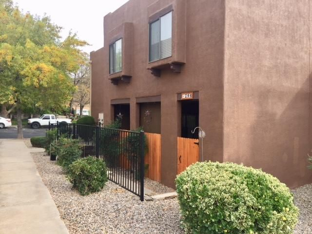 3 Bdrm Condo in the Far NE Heights. Enclosed Patio.  New landscaping and New exterior Paint.