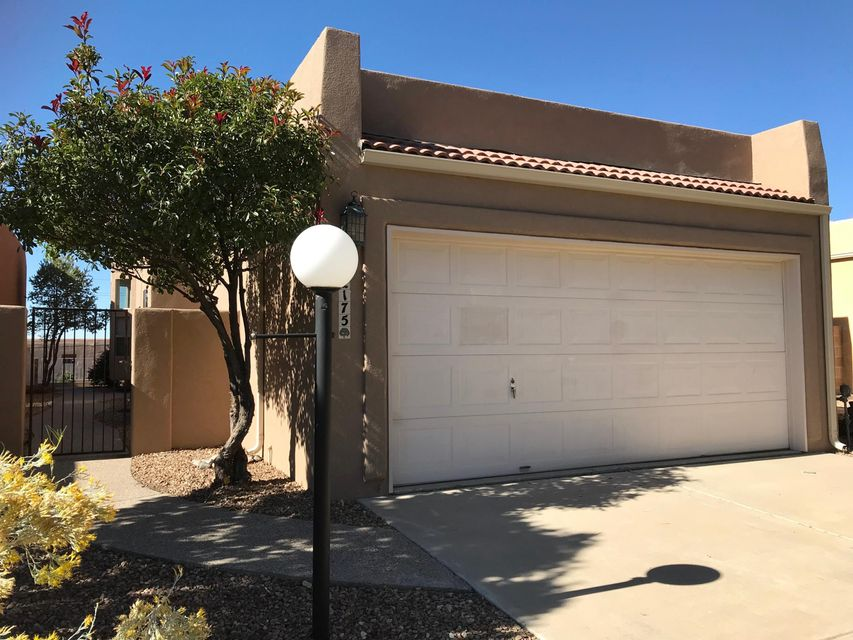 Check out this very cute One Story home ready to move in, quite and very friendly neighborhood .Truly exceptionally maintained home, New Stucco (2018), New Windows (2018), New Master Cool (2018).Enjoy the the 3-Way fireplace from Kitchen, Den and Formal Living area.Spacious master Bedroom with a private Patio and Mountain Views.It's located in a very desirable location and School District (Double Eagle, Desert Ridge and La Cueva)