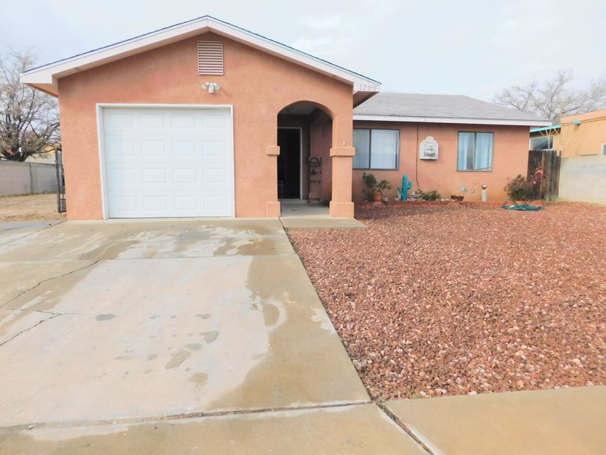 3 bedroom 2 bathroom home with backyard access under 140k! Great starter home or even a rental.