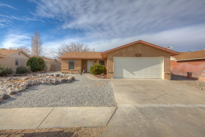 Complete Remodel! New floors, paint, stainless steel appliances, granite countertops. Large living spaces with walk in closet in master!