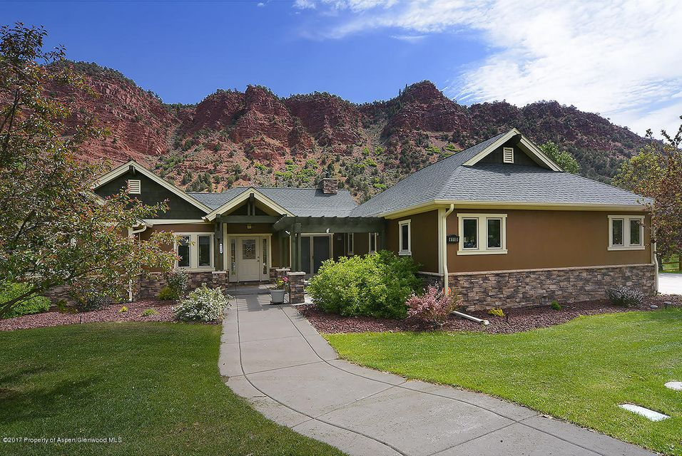 This stunning home sits above the Roaring Fork River with some of the most stunning views in Glenwood Springs. All HOA docs can be viewed at http://www.parkeasthoa.com/documentation