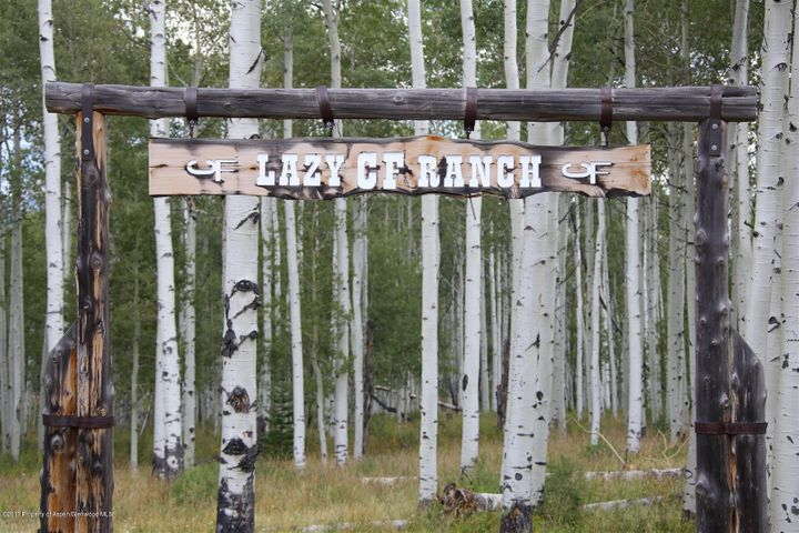 Entry to Ranch