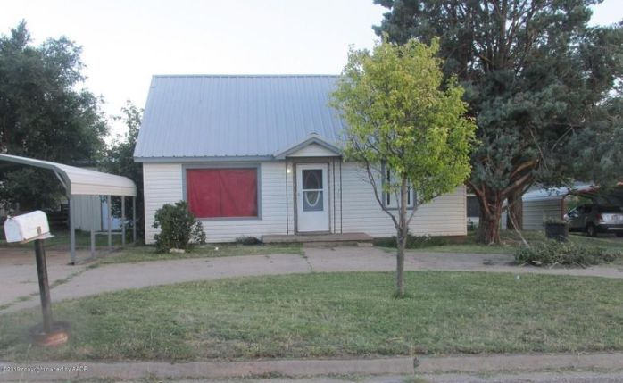 Front with Carport/Circle Drive