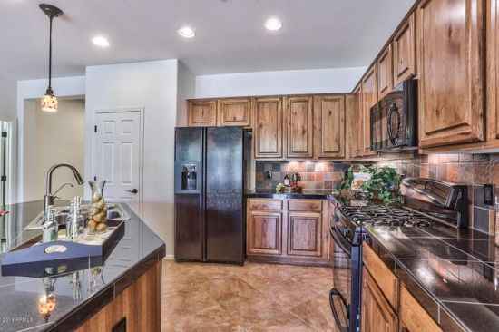 Kitchen is loaded with upgrades!