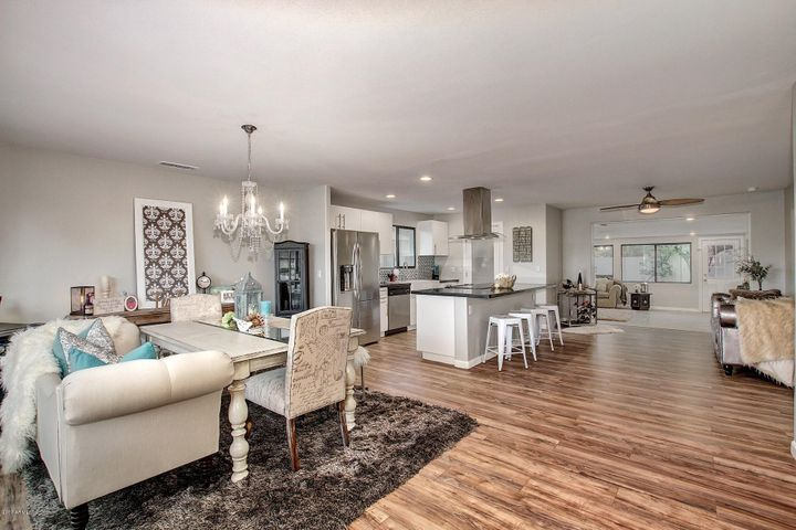 Dining, Kitchen, Breakfast Bar, Living Room