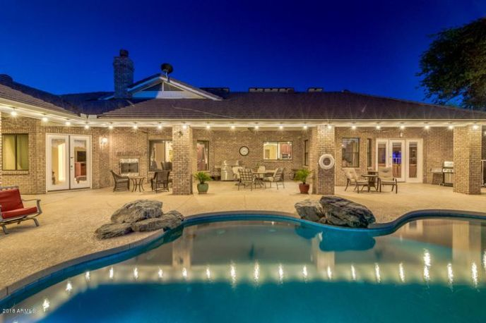 Entertainers dream home