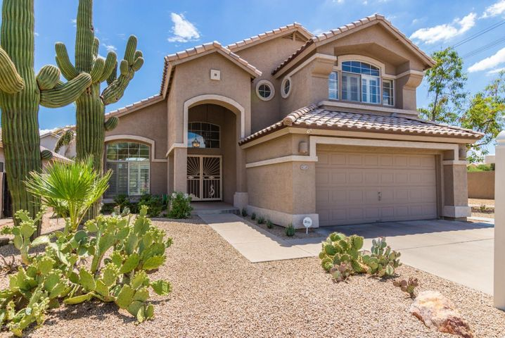 BRAND NEW ROOF and 2 huge saguaros in front!