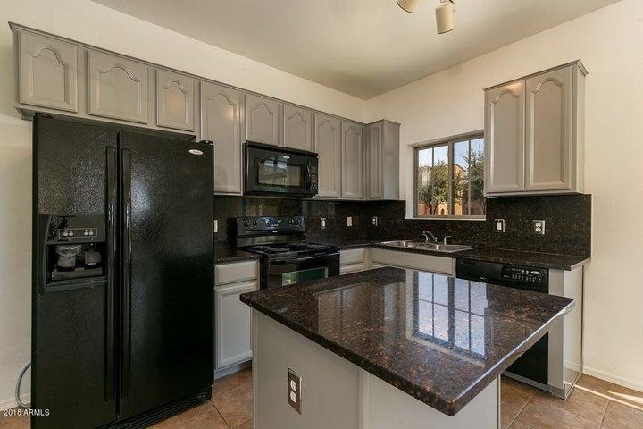 Beautiful kitchen with matching black appliances