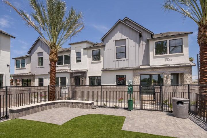 Home adjacent to community park