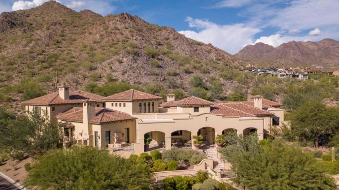 20759 N 102nd St - Scottsdale, AZ 85255 SILVERLEAF Club- Arizona's Premier Private Golf Community | Custom Estate by the renowned: Dale Gardon (Architect) | Salcito Homes (Builder) North Scottsdale | DC Ranch community