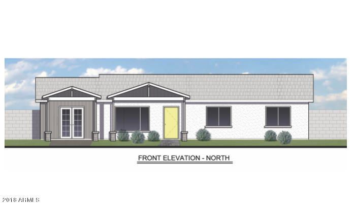 Front elevation, shutters will also be installed.