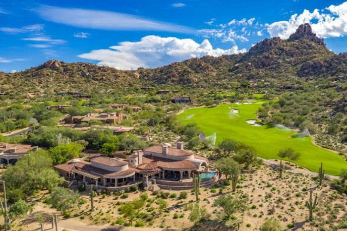 Pinnacle Peak in your backyard.