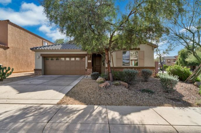 Welcome home to this impeccable one story home in the desirable D R Horton community within Desert Ridge. A short distance to PVUSD public schools, Desert Ridge Marketplace with shopping, dining and so much more!