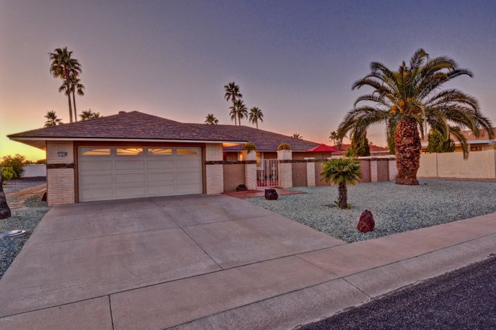 Single Level Home with Stucco Exterior and Private Front Courtyard