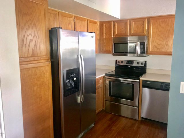 Fridge comes included!