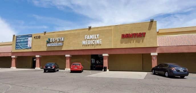 Offering 3000 sf of medical office space with X-Ray, reception, nurse station, intake/triage room, 10 offices.